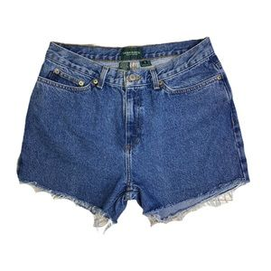 Vintage Ralph Lauren High Waisted Mom Jean Shorts